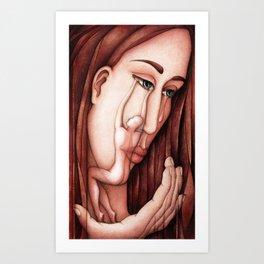 Mourning Art Print