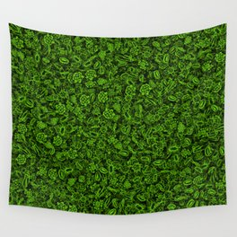 Green micropets Wall Tapestry