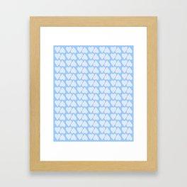 Multiple Heart Framed Art Print