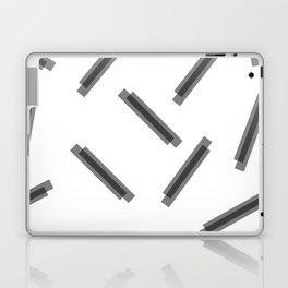 LINA ((black on white)) Laptop & iPad Skin