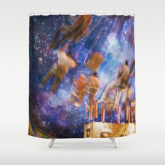 Shakers and Makers Shower Curtain