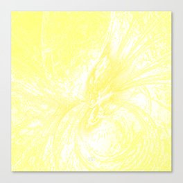 Splatter in Lemonade Canvas Print