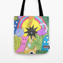 Monster Universe Tote Bag