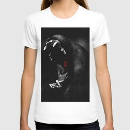 Roaring Animal Mouth T-shirt