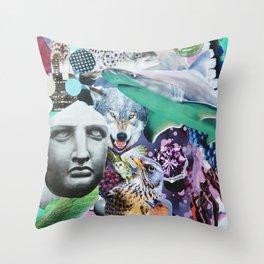 Emerald Empire Throw Pillow