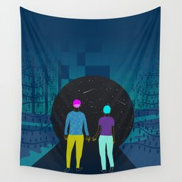 take my hand Wall Tapestry