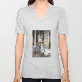 Miss bicycle Unisex V-Neck