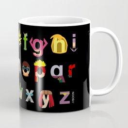 Marvelphabet Villains Coffee Mug