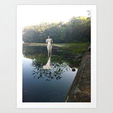 Gladys on Water Art Print
