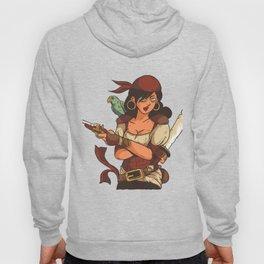Female Pirate Hoody