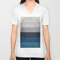 greece V-neck T-shirts featuring Greece Hues by Diego Tirigall