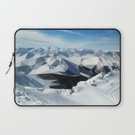 low poly mountains Laptop Sleeve