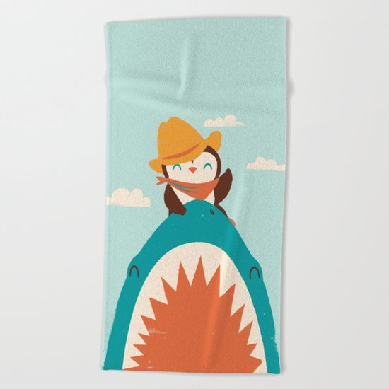 Yeehaw! Beach Towel