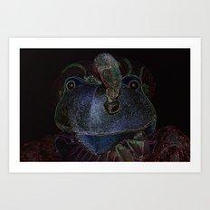 Sir Frog Art Print