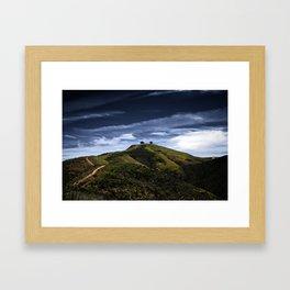 Two Tree Hill Framed Art Print