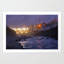 Ribeira Grande, Azores Art Print