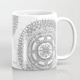 Exhilarating on White Background Coffee Mug