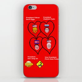 Best Friends Forever Alliance iPhone Skin