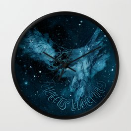 FIG. 756 color (Haliaeetus leucocephalus) Wall Clock