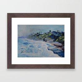 La Jolla Dreamin Framed Art Print