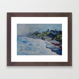 La Jolla Dreamin Framed Art Print