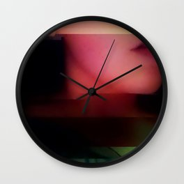 Deadly Digital Nightshade Wall Clock