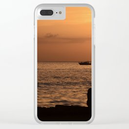 Tranquil Friends Clear iPhone Case