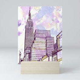 August Breeze Mini Art Print