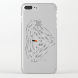 lost in love Clear iPhone Case
