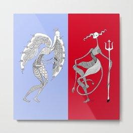 Angel/Devil (color) Metal Print