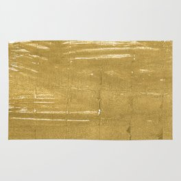 Aztec Gold abstract watercolor Rug