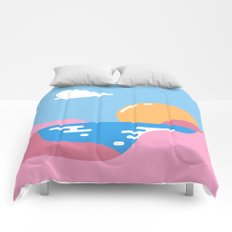 Our Sunset Comforters