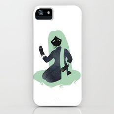 Space Girl 7 Slim Case iPhone (5, 5s)