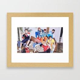 Bangtan Boys / BTS Framed Art Print