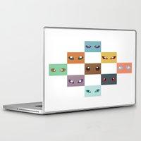 eevee Laptop & iPad Skins featuring Eyes of Eevee by Casey Sawyer