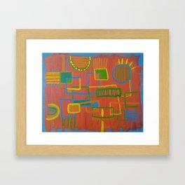 Circuit Kid Framed Art Print