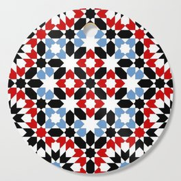 Abstract Indigo Cutting Board