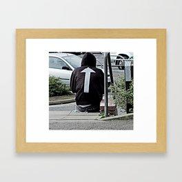 Hoody Framed Art Print
