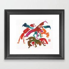 Capoeira 243 Framed Art Print