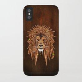 Dreadlock Lion iPhone Case
