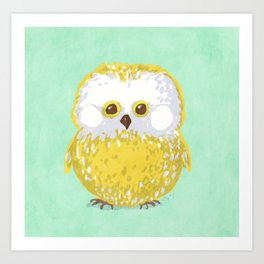 Oly the Owl  Art Print