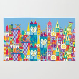 It's A Small World - Theme Park Inspired Rug