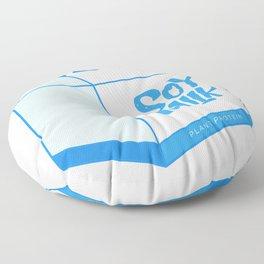 soy milk Floor Pillow