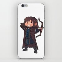 kili iPhone & iPod Skins featuring kili by Ronnie