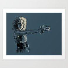 Mrs. Robinson - Doctor Who Art Print