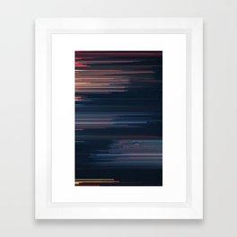 Glitched v.4 Framed Art Print