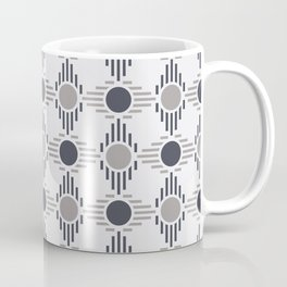 Geometric Pattern. Circles and Rhombuses Coffee Mug