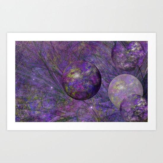Lavenderdream Art Print