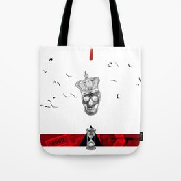 Time is King Tote Bag