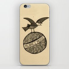 planet music iPhone & iPod Skin